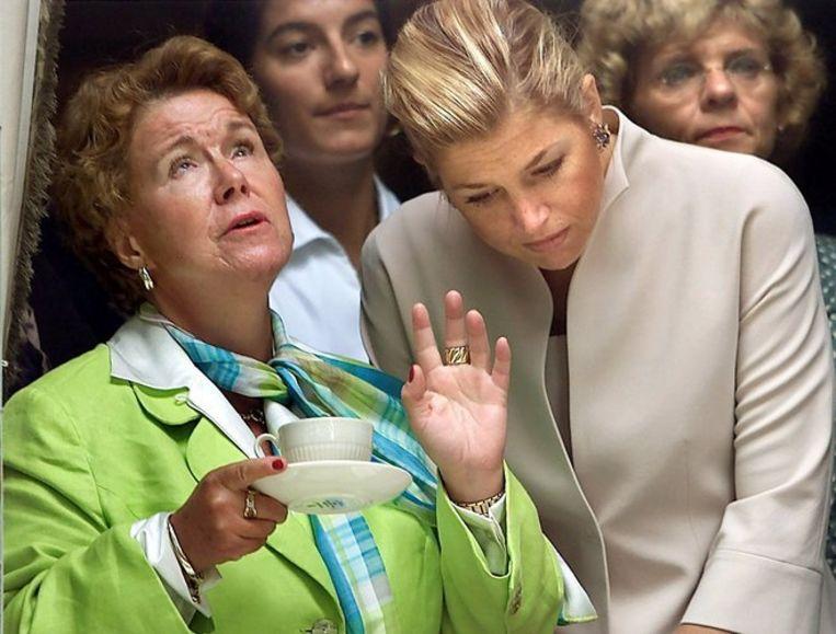 Prinses Christina (links) wilde in 2005, kort na het overlijden van haar ouders koningin Juliana en prins Bernhard en vanwege haar echtscheiding, haar geldzaken goed regelen alvorens van New York naar Londen te verhuizen. Foto ANP/Ed Oudenaarden Beeld