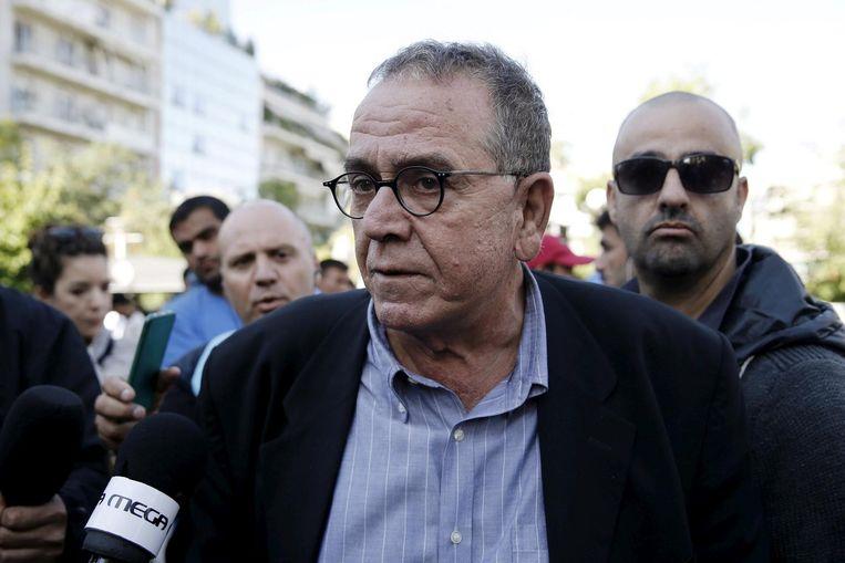 Ioannis Mouzalas. Beeld reuters