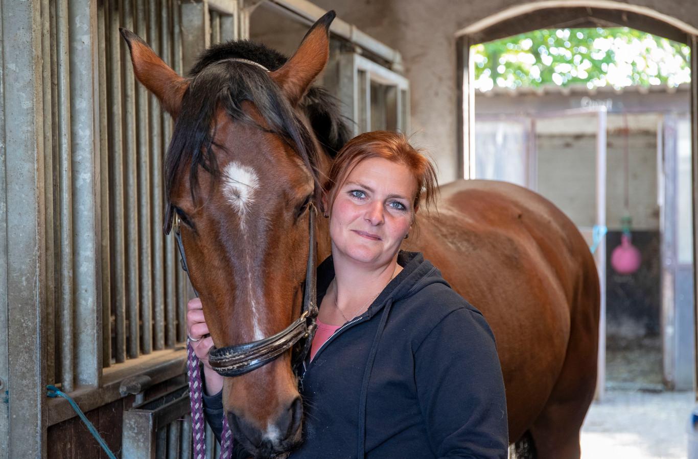 Ilonca Sterkenburg van Stal de Zoete Inval: uit haar wei verdween op 26 maart pony Rico. De pony werd afgelopen weekend gevonden in een zwembad. (Foto ter illustratie)