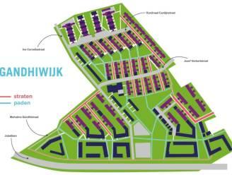 """Inwoners Gandhiwijk kunnen stemmen op favoriete nieuwe straatnamen: """"Laatste woord is aan de inwoners"""""""