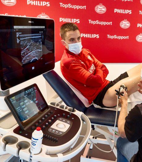 PSV en Philips kondigen medische topprimeur aan:  Veel beter na te gaan of training topsporters aanslaat