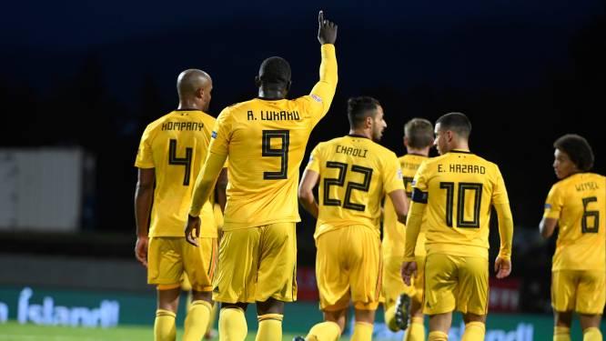 België straks opnieuw het nummer één van de wereld op FIFA-ranking