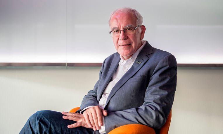 Hersenonderzoeker Dick Swaab.  Beeld Hollandse Hoogte /  ANP