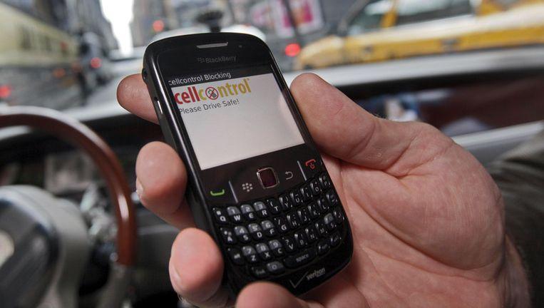 Een BlackBerry. Foto AP Beeld