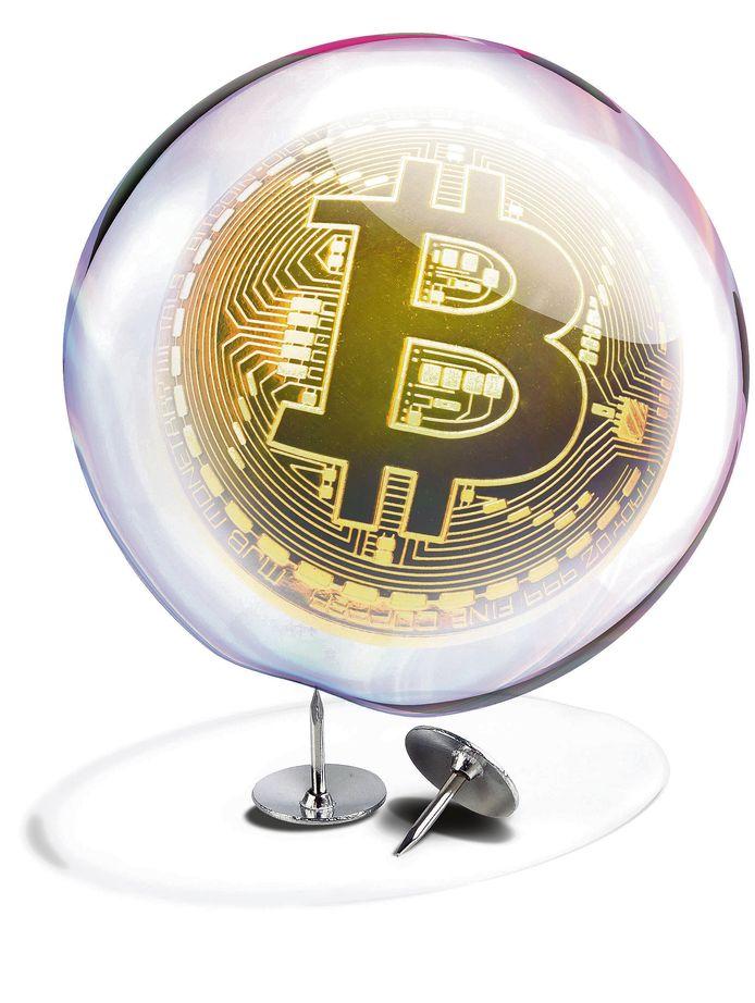 De 'Bitcoinbubble'.