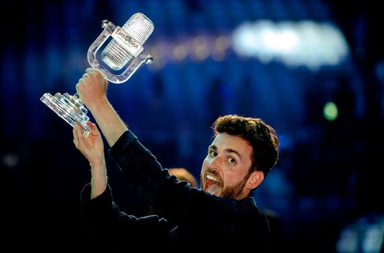 Duncan Laurence won vorig jaar het Songfestival met zijn nummer 'Arcade'. Beeld ANP Kippa