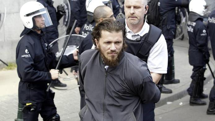 Jean-Louis Denis avait été déjà arrêté à Molenbeek en juin 2012 pour avoir incité des jeunes à l'émeute (archive).