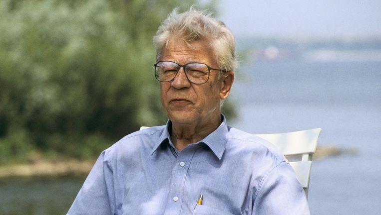 Heinz Polzer, Drs. P, in 1991. Beeld anp