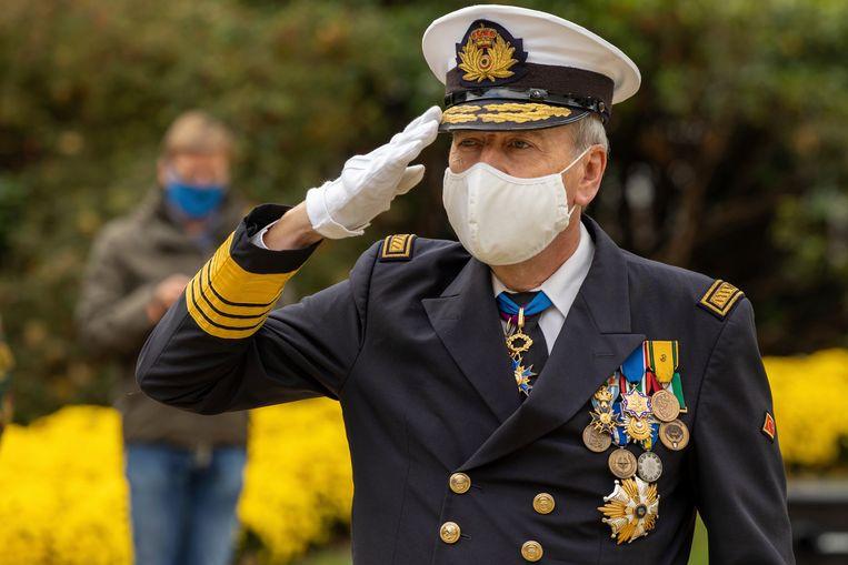 Chef Defensie Michel Hofman.  Beeld AP