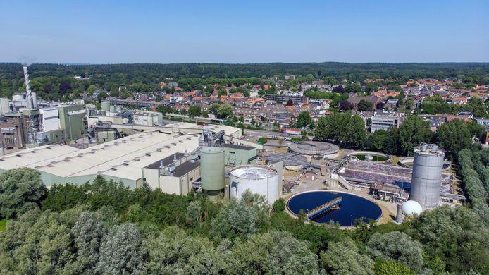 De fabriek van Smurfit Kappa Parenco in Renkum.