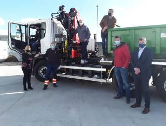 """Zedelgem vervangt oude vrachtwagen door milieuvriendelijk exemplaar: """"De keuze lag voor de hand"""""""