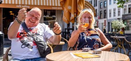 LIVE | Horeca weer geopend: terrassen in Brabant stromen vol, sfeer is vooral relaxt