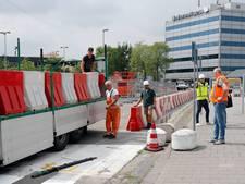 Kiss & Ride bij Eindhoven Airport weer terug naar oude plek na instorten parkeergarage