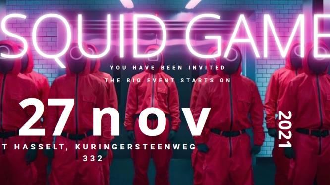 """Levensecht 'Squid Game'-event komt op 27 november naar Hasselt: """"Maar nee, niemand moet ervoor sterven"""""""