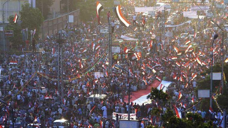 Caïro, vrijdag. Beeld reuters