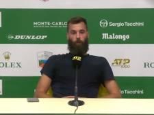 """Benoit Paire craque à nouveau après son élimination à Monte-Carlo: """"J'en ai rien à cirer, j'ai pris 12.000 euros et je rentre chez moi"""""""