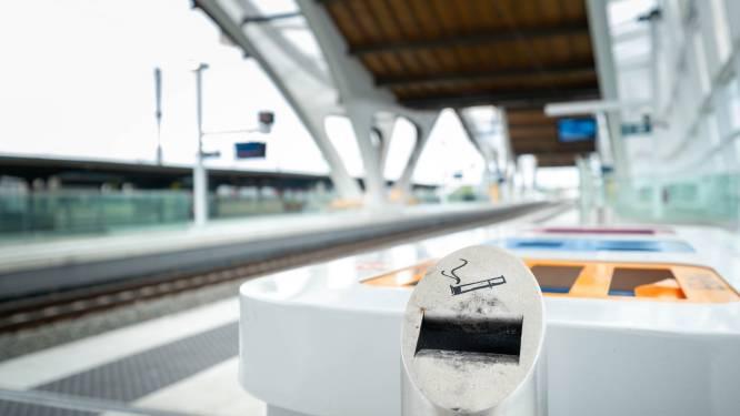 Nooit meer roken op het perron of in het station: NMBS en minister positief over initiatief stad Mechelen