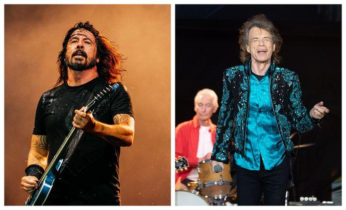 Dave Grohl en Mick Jagger brengen samen een nummer uit