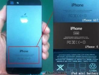 Foto's iPhone 5S uitgelekt?
