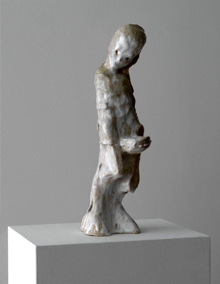 Johan Tahon - 'Monk' (2019). Galerie Gerhard Hofland. Beeld galleryviewer