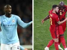 """Quand Yaya Touré parle des fesses d'Hazard et de Lukaku: """"C'est très important dans sa façon de jouer"""""""