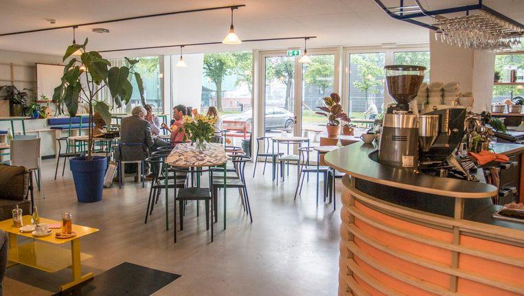 Clubhouse Amsterdam is voorlopig alleen tijdens kantooruren geopend Beeld Jesper Boot
