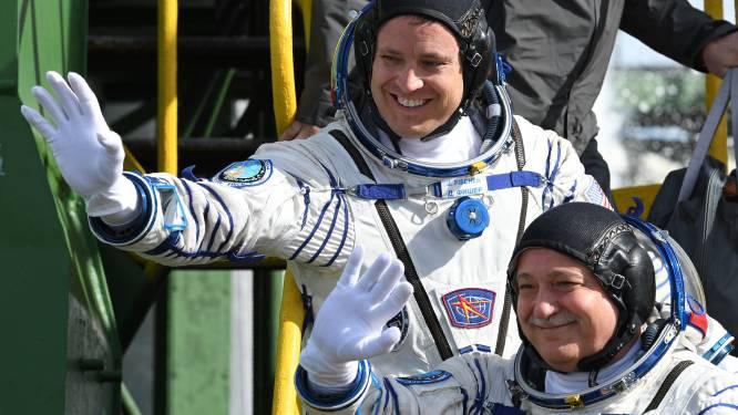 Amerikaans-Russisch duo aangekomen in ISS