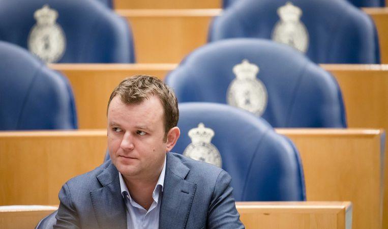 Bart van Kent (SP), initiatiefnemer van deze linkse samenwerking Beeld anp