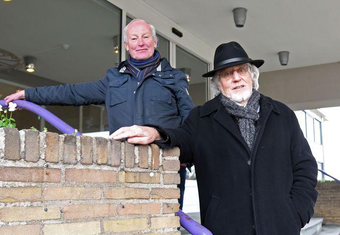 Wop de Boer (links) en Wim Bruynooge.