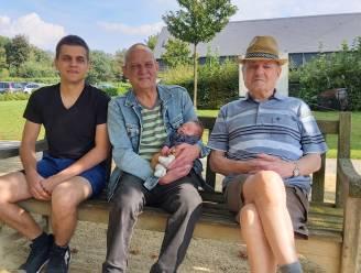 Familie Danckaerts heeft viergeslacht na geboorte Lars