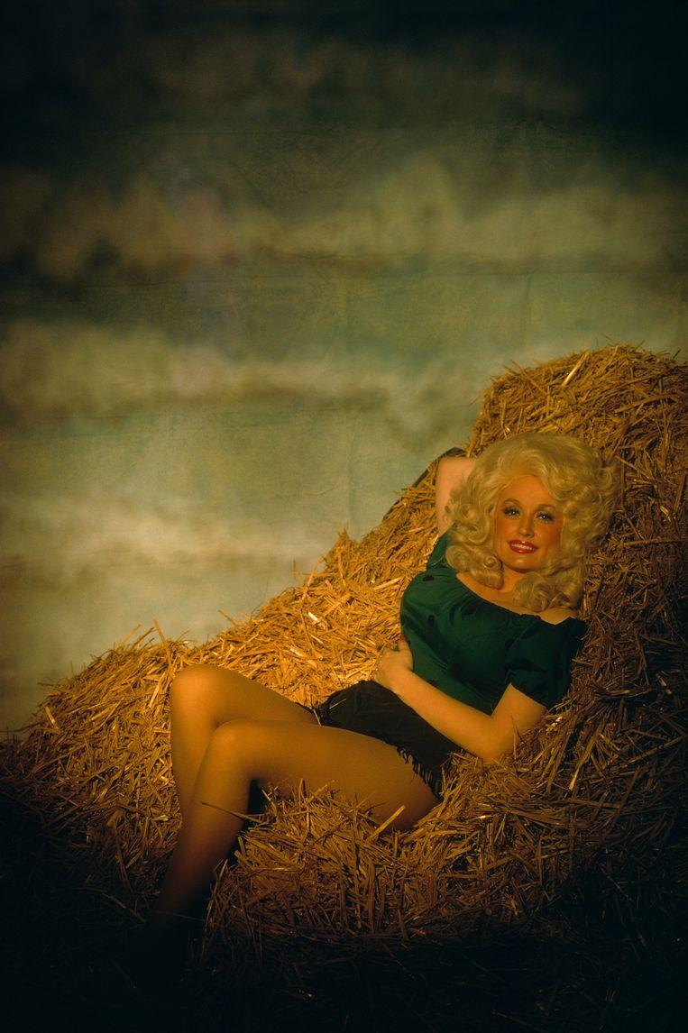 Christophe Vekeman: 'Dolly Parton wordt op handen gedragen door zowel hillbilly's uit Tennessee als de gay community.' Wim Opbrouck: 'De wereld heeft zulke verbindende figuren heel hard nodig.' Beeld Sygma via Getty Images