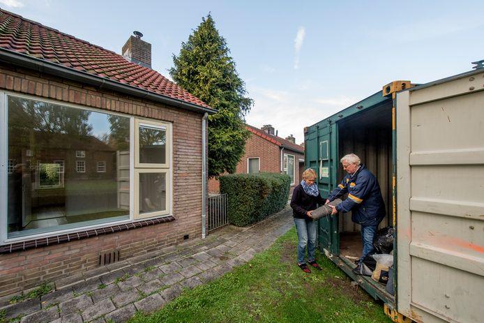Al in 2019 verlieten bewoners huizen aan de Laan van Crayestein en Rodenburgstraat in Tricht.