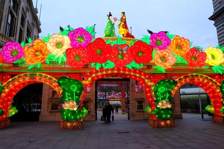 China Light lokte deze winter 100.000 bezoekers naar de Zoo.