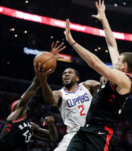 Leonard met Clippers te sterk voor Raptors