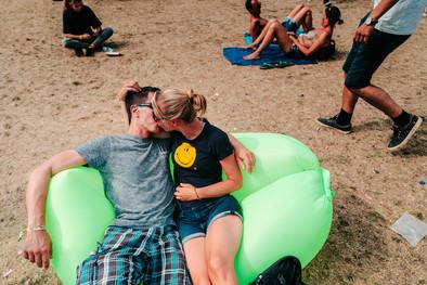 fotoreeks over Rock Werchter: Lust en liefde in 10 beelden