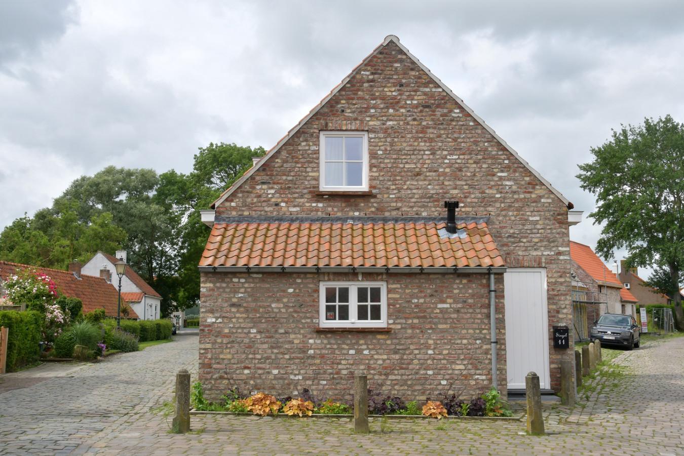 Een vakantiewoning in Sint Anna Ter Muiden.