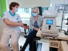 Oogpatiënt heeft direct contact met ziekenhuis op moment dat thuistest te grote achteruitgang laat zien