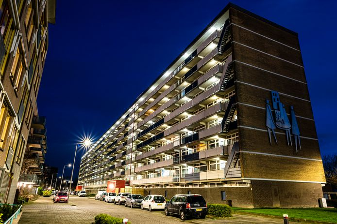 De Diamantflat in Alphen.