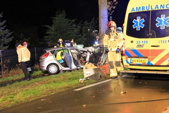 Ongeval Langstraat (N270) in Deurne.