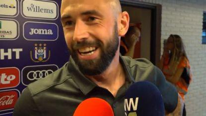 """Defour: """"We hebben Anderlecht goed geanalyseerd en onze fysieke sterkte na rust uitgebuit"""""""