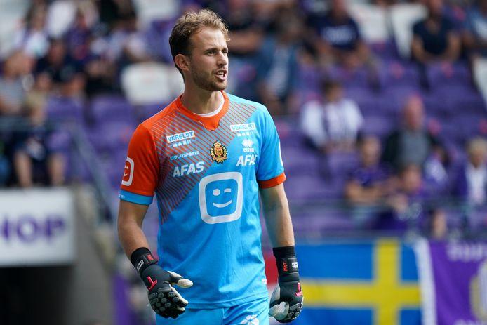 KV Mechelen-doelman Gaëtan Coucke beleefde geen leuke namiddag tegen Anderlecht.
