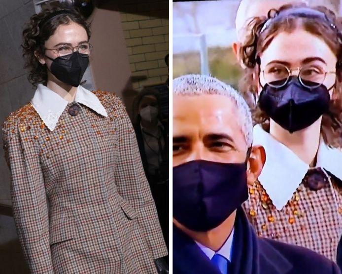 Ella Emhoff fait sensation sur les réseaux sociaux lors de la cérémonie d'investiture de Joe Biden.