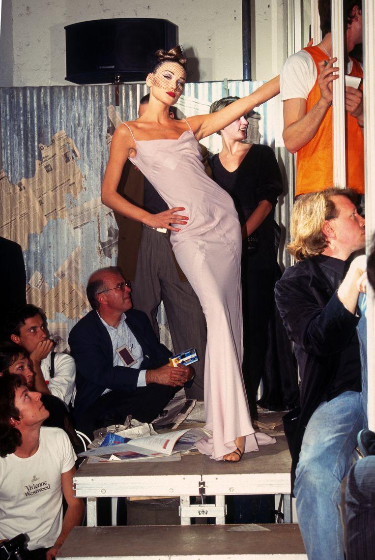 De jaren 90: bij een show van John Galliano Beeld WireImage