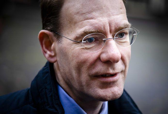 Staatssecretaris Menno Snel van Financiën (D66).
