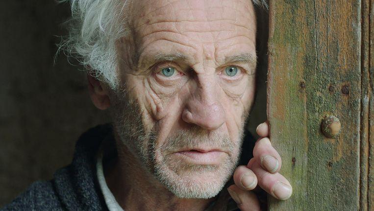 Johan Leysen als norse, zwijgende boer in Resurrection Beeld