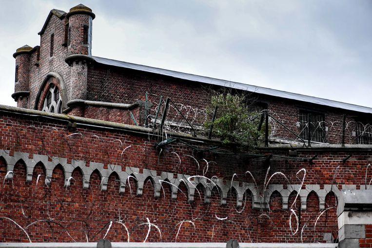 De gevangenis van Vorst. Beeld BELGA