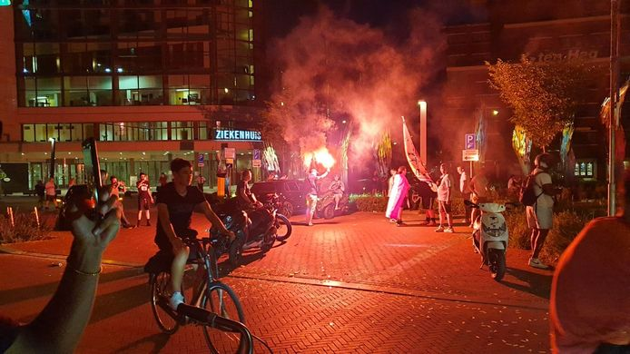 Feest in Enschede