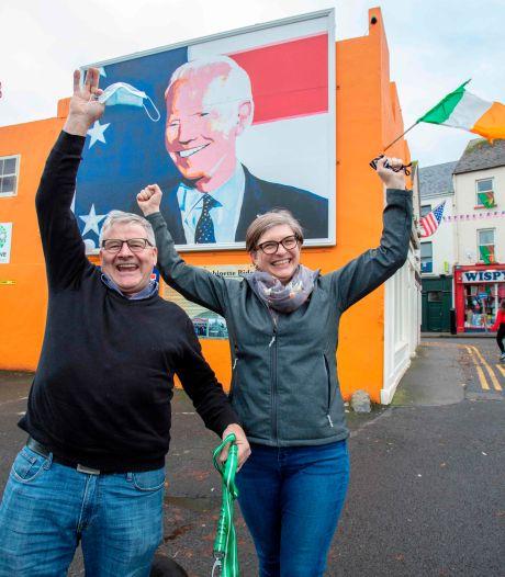 In Ierland lopen ze al weg met 'hun Joe Biden'