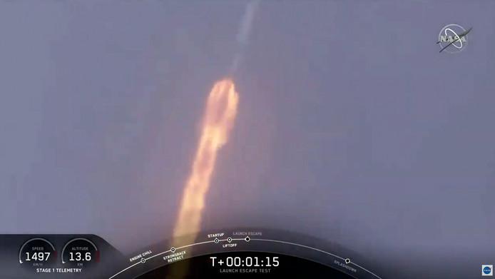 De lancering