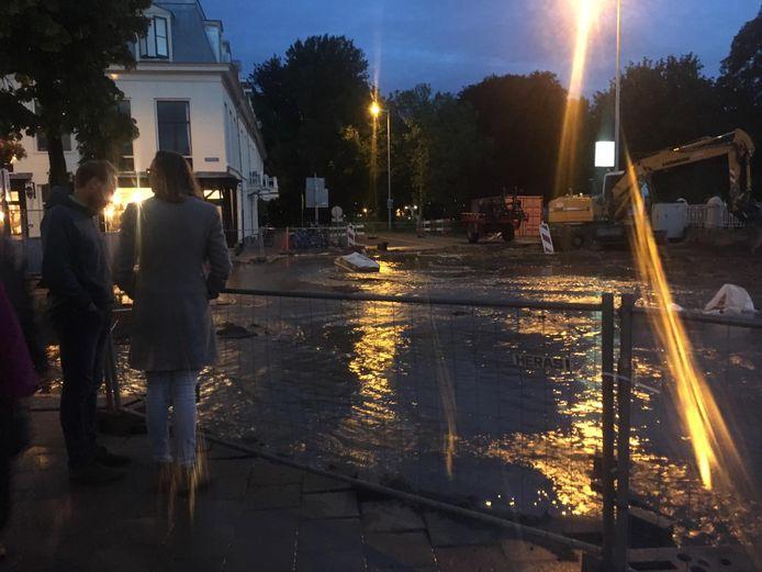 Een waterballet op de Bilstraat